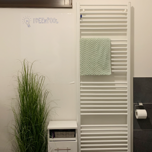 Ideenpool - Badezimmer mit Whiteboard-Folie